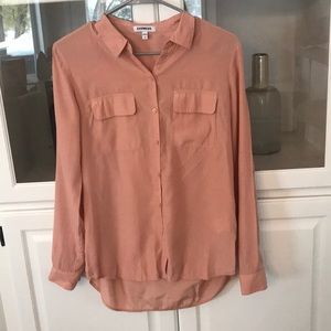 Express button down blouse